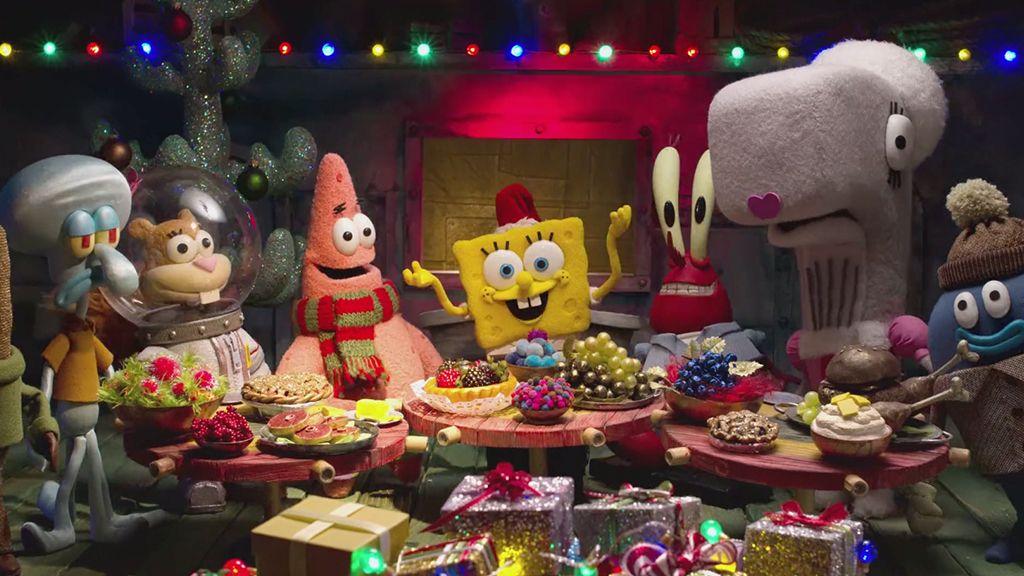 spongebob squarepants a spongebob christmas