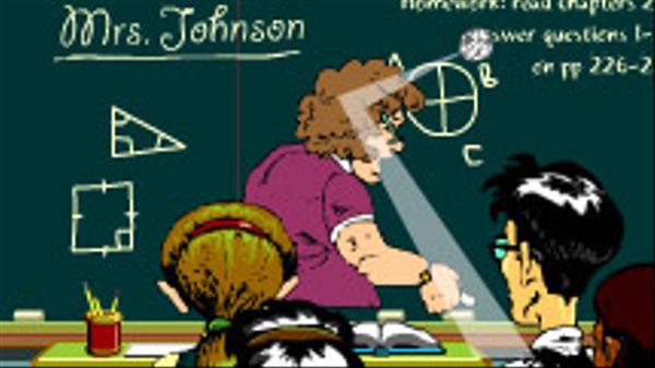Substitute Teacher Screenshot Picture