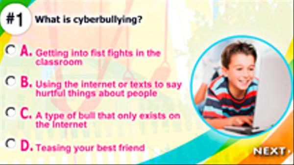 Are You Cyber Bully Savvy? Screenshot Picture