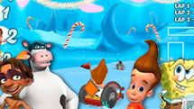 3D Snow Kart Rally game