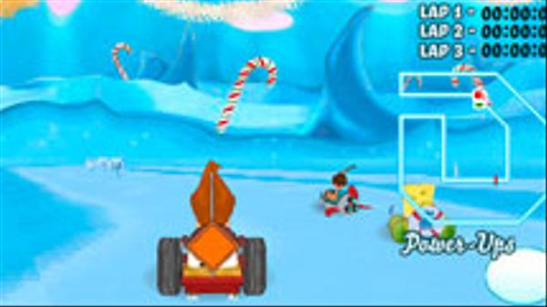 3D Snow Kart Rally Screenshot Picture