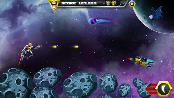 Robo Knight Flight Fight Screenshot Picture
