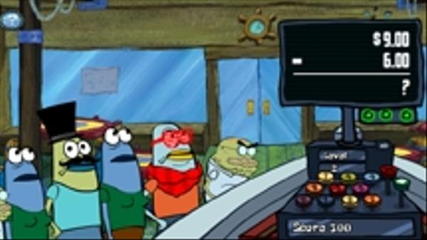 Krusty Cashier Screenshot Picture