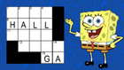 SpongeBob's Crossword game
