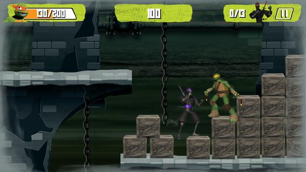 Foot Clan Clash Screenshot Picture