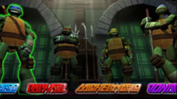 Ninja Turtle Tactics 3D Screenshot Picture