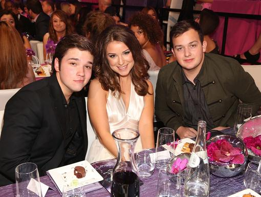 iCarly Crew|Noah Munck and Nathan Kress def kept the party lookin' classy and cool.