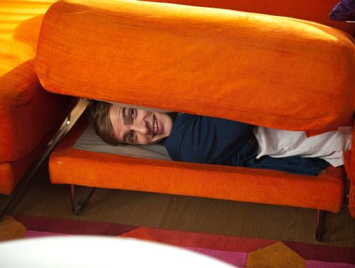 Hide and Go Seek! What could Kendall possibly be hiding from? Surely not some sort of big decision...