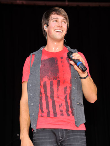 Fan Flattery|James was all smiles when he heard all his big time crushers shouting to him from the audience.