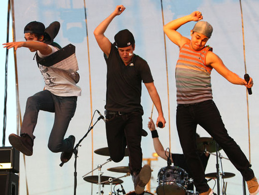 Leap For Joy|Jump up fall down, gotta play it loud now! Why? Because BTR just landed in Ohio!