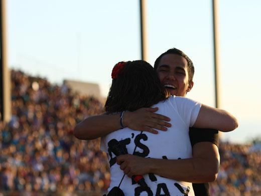 Cuddling Carlos