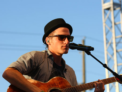 Triple Threat|Kendall can sing, dance, AND play the guitar. And he looks pretty good while doin' it, too.