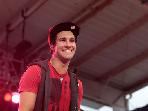 Gorgeous Grin|Who could resist James Maslow's perfect smile? Not us!
