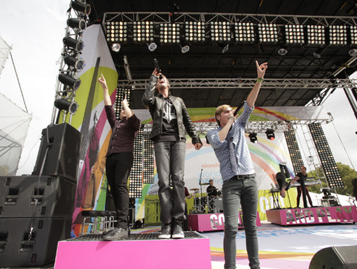 First Place Big Time Rush may only be Halfway There, but we can already tell who's winning this race!