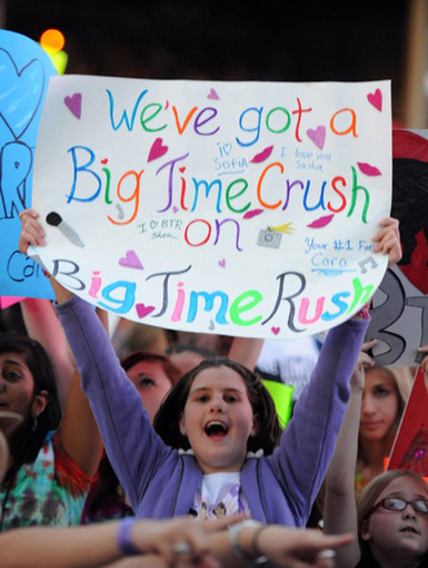 Big Time Crush|We have to say, this gal's got the right idea!