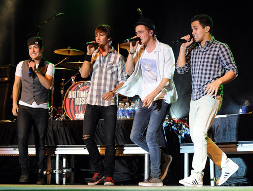 One Step Ahead|With this hip and quick choreography, the boys of BTR can't be beat!