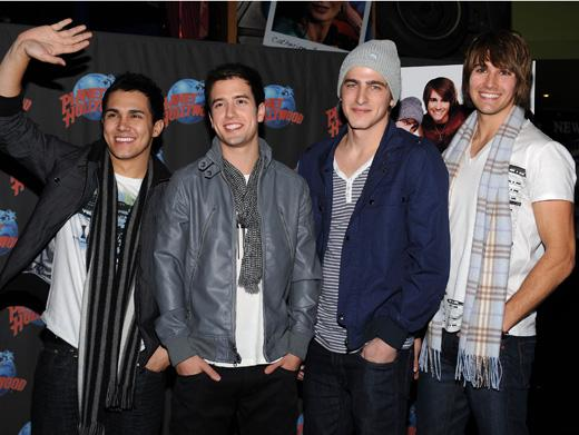 Planet Hollywood Welcomes Big Time Rush