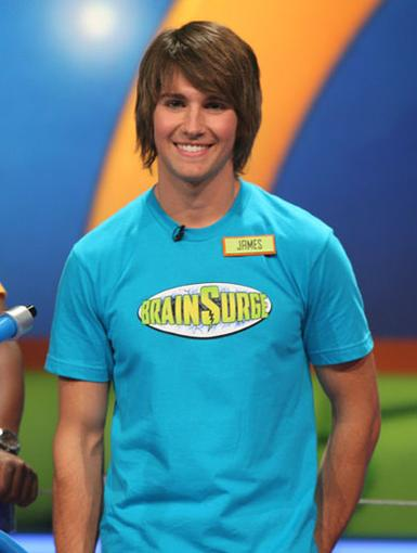 Brainy Beauty|BTR's James Maslow proved that there's more to him than just dashing good looks. He was one of the best players on the show!