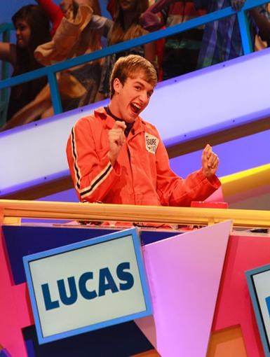 Victory Dance!|Fred's very own Lucas Cruikshank performs a little victory jig of his own.