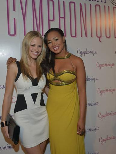 Birthday Beauties|They might not see eye to eye on the show, but the real Halston Sage and Cymphonique Miller were nothing less than BFF's on the red carpet!