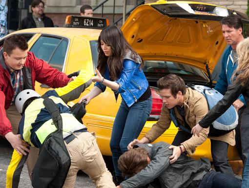 Traffic Jam|Uh oh, looks like Spencer may have collided with a biker, so clumsy!