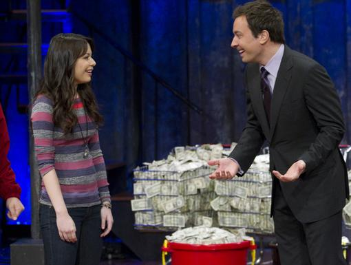 Bucket Full of Cash|Whoa, with money like that, the webshow could have its own TV show too!