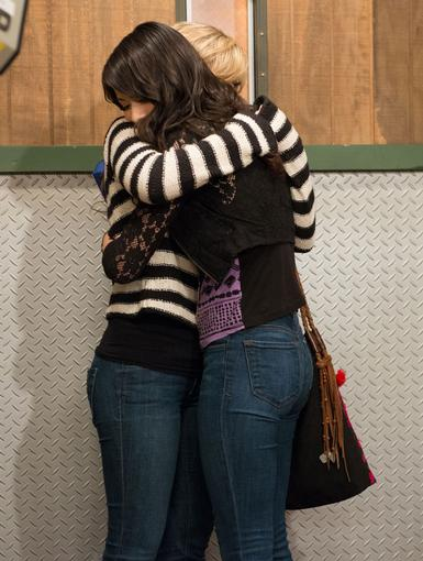 Sisterly Bond|They say that parting is such sweet sorrow, but Sam and Carly see nothing sweet about it! Just don't worry you two - a true bestie is a bestie for life!