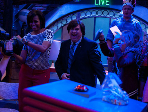 Party Time!|It turns out, even the Presidential family is a fan of random dancing.