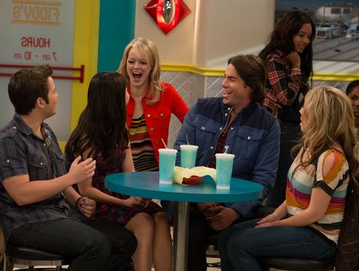 Superfan Emma Stone plays a REALLY convincing crazy fan. It probably helps that she's an iCarly fan in real life too!