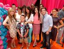 Cast Clash|All our favorite cast members from iCarly and Victorious came together to celebrate the biggest party of the year at this hip Orange Carpet premiere!