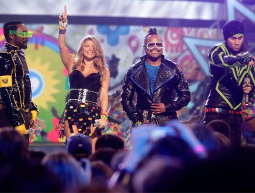Fergie's First|The Black Eyed Peas come in number one when it comes to their awesome performances. We just can't get enough!