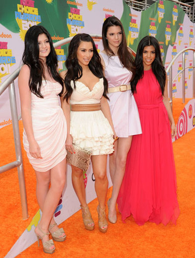 Style Sisters|This pack of Kardashion sibs always dresses to impress. It's no wonder they had some of the best Orange Carpet looks!