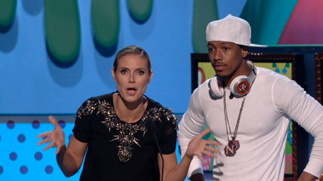 Kids' Choice Awards: KCA 2011: Nick Cannon & Heidi Klum Video Clip | Nick Videos