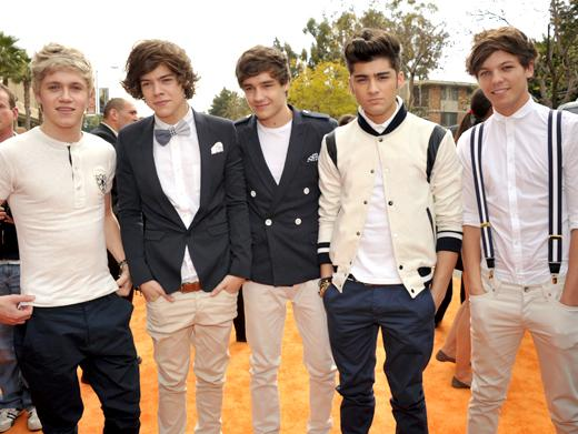 KCA 2012: One Direction