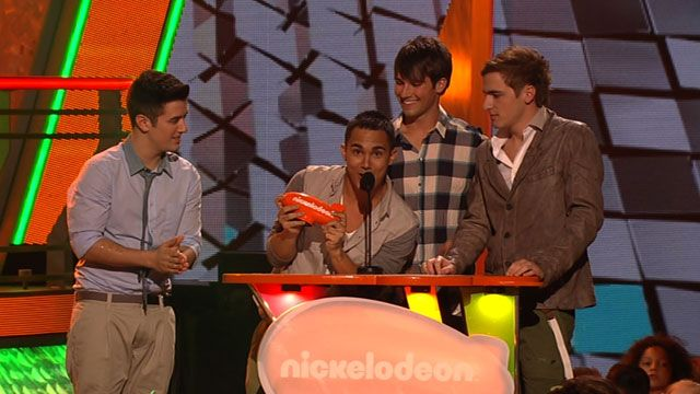 Kids' Choice Awards: KCA 2012: Big Time Rush Wins Favorite Music Group! Video Clip | Nick Videos
