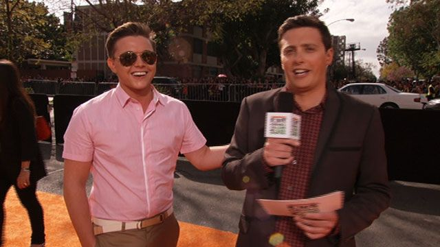 Kids' Choice Awards: KCA 2012: Meet Jesse McCartney Video Clip | Nick Videos