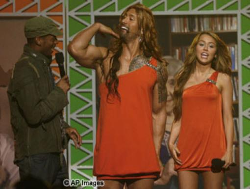 Marlon Wayans, Dwayne Johnson, Miley Cyrus