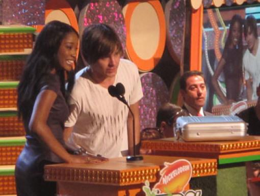 Keke Palmer and Zac Efron