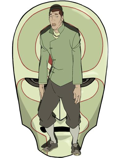 TRIPLE THREAT TRIAD THUG 2|Could this doofus really mastermind the Equalist movement? He's tall enough, but why didn't he finish Korra off when he had the chance?