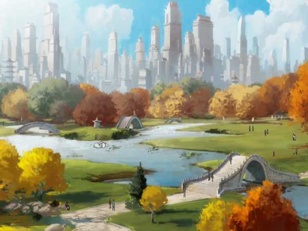 "Legend Of Korra: ""Republic City Sights"""