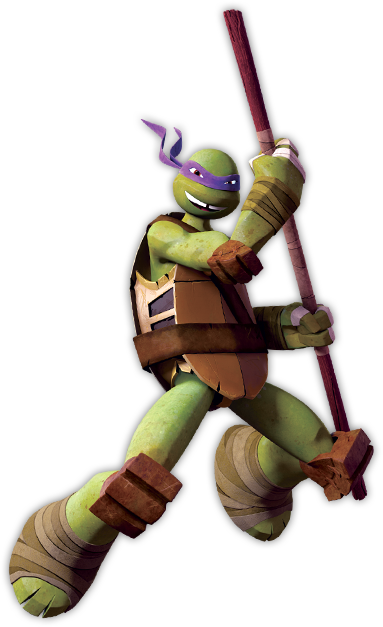 Donatello from Teenage Mutant Ninja Turtles