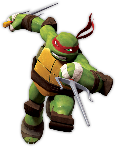 Raphael from Teenage Mutant Ninja Turtles