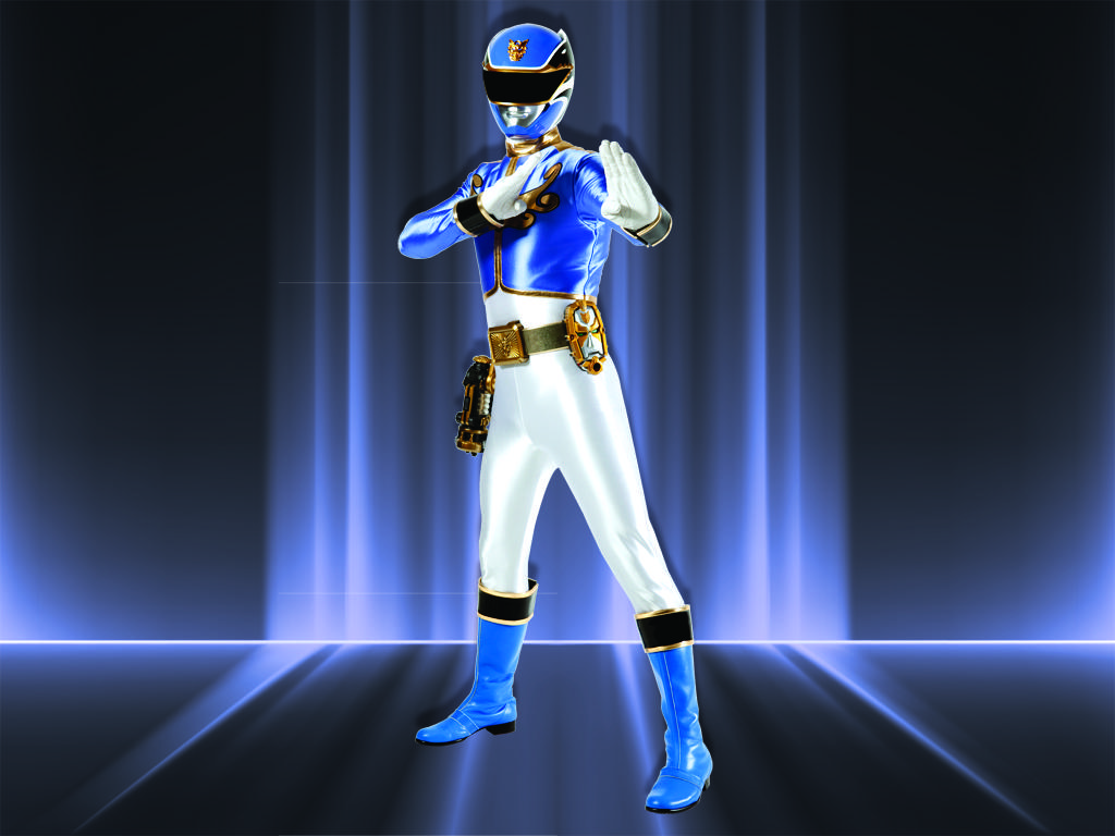 Megaforce Blue Ranger
