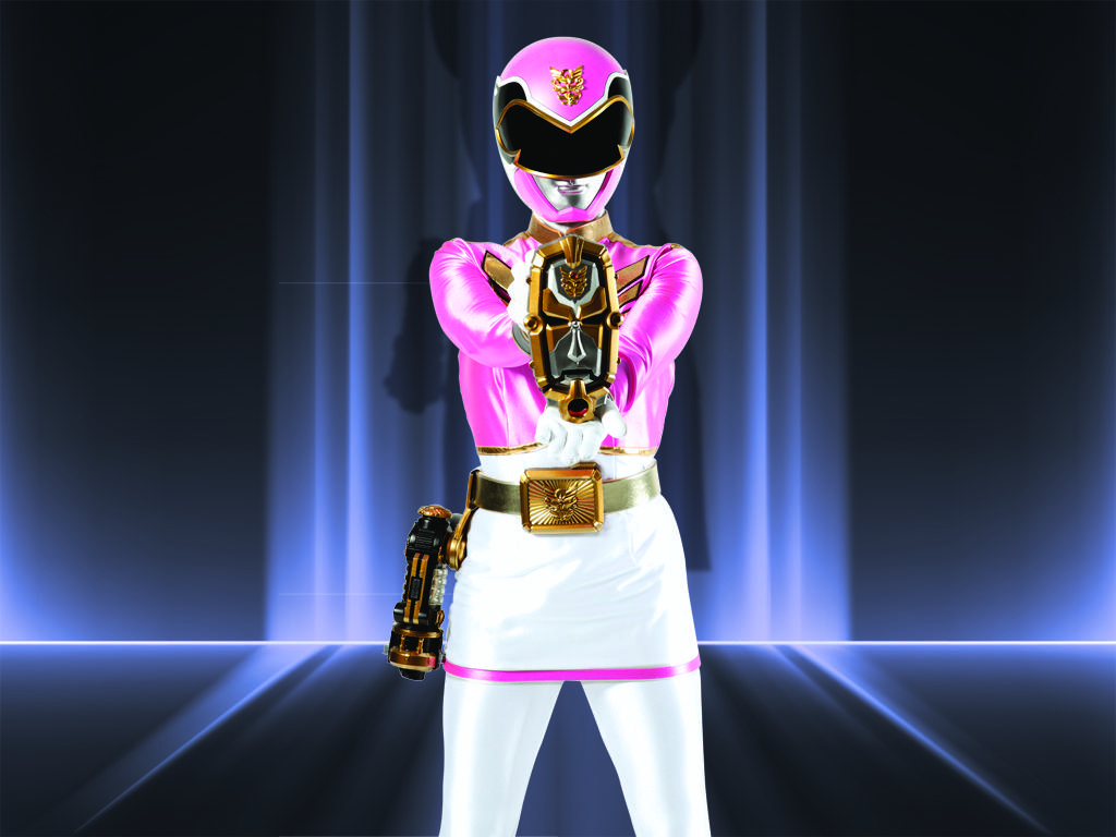 Megaforce Pink Ranger
