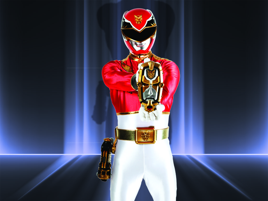 Megaforce Red Ranger