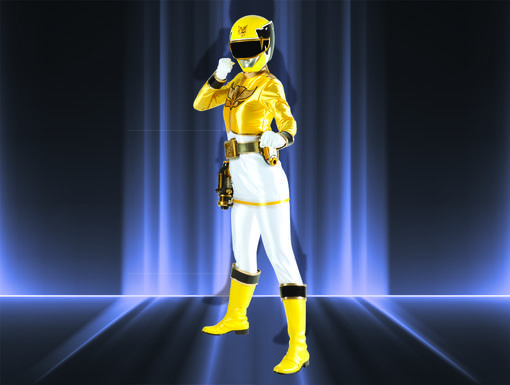 Megaforce Yellow Ranger|They call Gia Moran