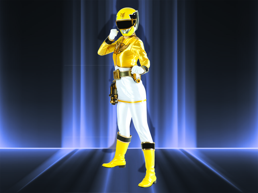 Megaforce Yellow Ranger