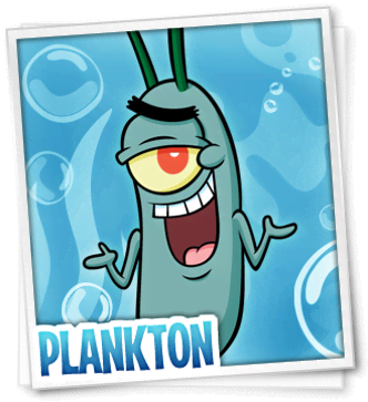 Plankton Picture - SpongeBob SquarePants Theme