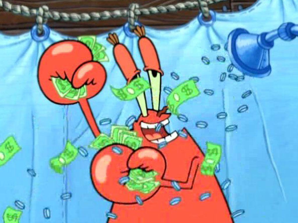mr  krabs money bath Mr Krabs Money Bath