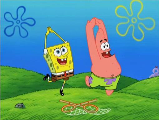 The Dance of The Jellyfish|Patrick taps and twirls with SpongeBob!